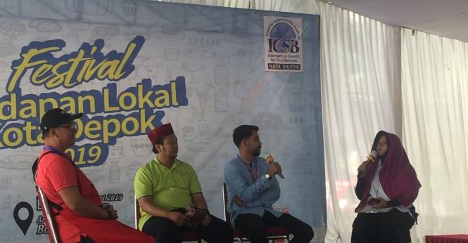 Qasir.id di Festival Kudapan Lokal Kota Depok 2019