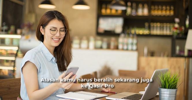 Jaminan biaya berlangganan paling murah Qasir Pro