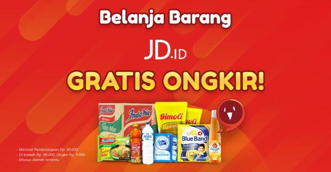 Belanja Online di JD.ID dengan Miqro, Ongkos Kirim Super Murah!
