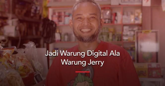 Toko Jerry, Warung Kelontong dengan Sentuhan Teknologi