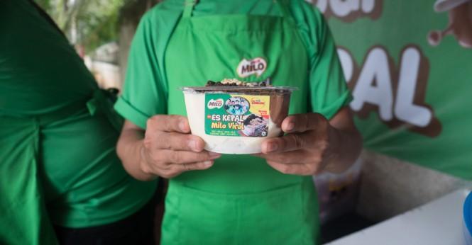 Es Kepal Milo Viral yang asli!