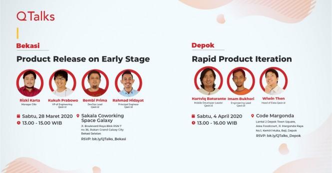 Qasir Adakan Seminar Tech di Bekasi dan Depok