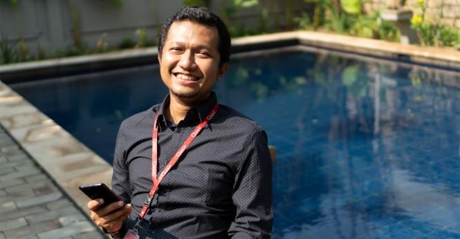CIO Qasir.id Novan Adrian dalam Local Business Day